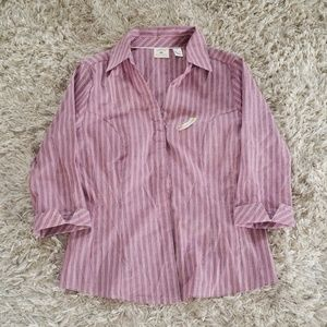 Nwot Riders by Lee Button Down Top
